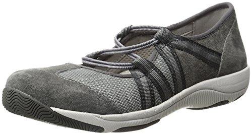 Dansko Women's Honey Fashion Sneaker Charcoal Suede