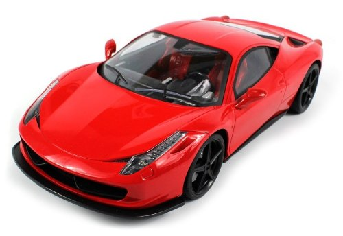 Ferrari 458 Italia Electric RC Car SV LTD. Collection 1:14 RTR (Colors May Vary)