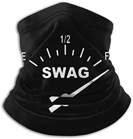 Swag Gauge ネックカバー 丸洗い可能 バンダナ 通勤 通学 フェイスガード 多機能 日よけ サイクリングカバー