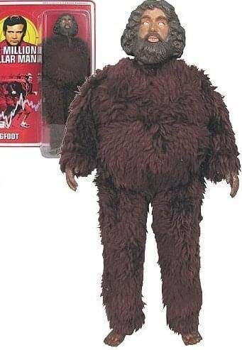 The Six Million Dollar Man Bigfoot Action Figure (Bionic Six Toys)