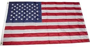 5x8 Ft US American Embroidered Nylon Flag USA