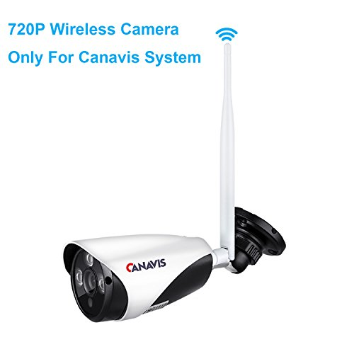 720P Outdoor Wireless Security Camera Standalone - Smart HD Waterproof Surveillance WIFI Wireless IP Cameras with Night Vision, Motion Detection, Easy Installation No Video Cables Needed