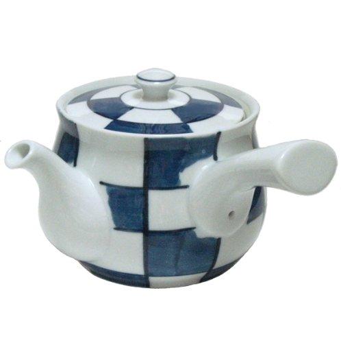 Dark checkered MS large teapot 60300 (japan import)
