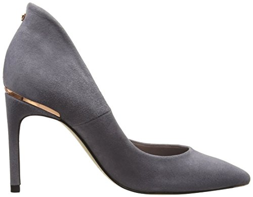 Ted Savio Heels Grey Grey Toe Women's Baker Closed RSwgnqaRr