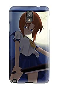 New Style Ulysses Elliott Hard Case Cover For Galaxy Note 3- Muder Rena Higirashi Anime Other