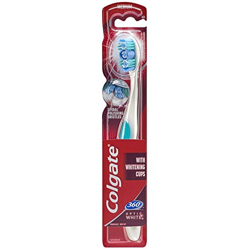 Colgate Optic White Toothbrush Medium