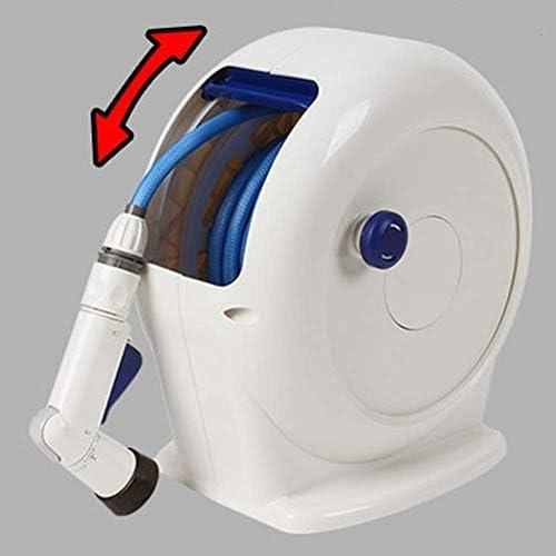 FDSFD Weiße Sprinkleranlage, automatischer Teleskopschlauch, tragbarer Bewässerungsschlauch, Autowaschschlauch, Bewässerungsgarten, Gemüsegarten, Bewässerungsset