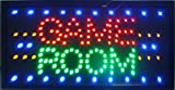 CHENXI Game Room/Billiard/Gioco Poker/Golf Sport Entertainment Led Business Store Neon Sign Display 19 X10 Inch(48 X 25 CM) Indoor Use (48 X 25 CM, game room)