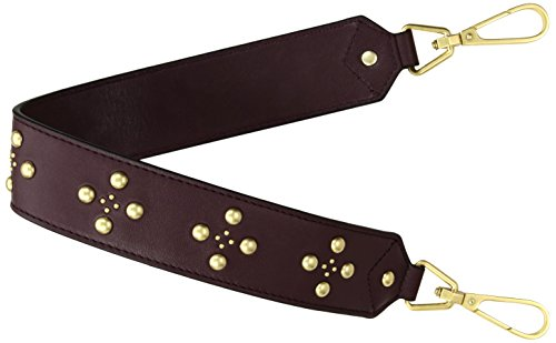 Carson Embellished Chocolate Bittersweet Leather Bradley Strap Vera 5gwpEp