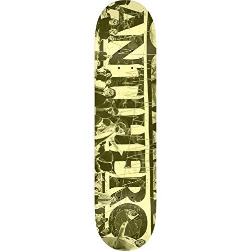抗生物質エクステント発症アンチヒーロー スケートボード クォータークリームスケートボードデッキ 8.06インチ x 31.8インチ