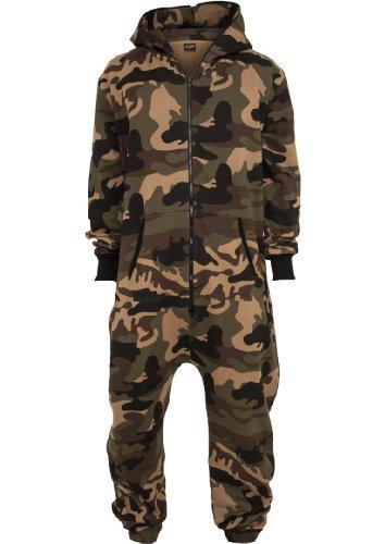 Urban Classics Men's TB581 Camo Jumpsuit XL/XXL Wood Camo