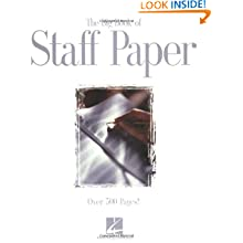 The Big Book of Staff Paper