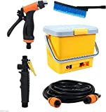 Icome Portable High Pressure Washer Power Pump Self-priming Car Wash Kit