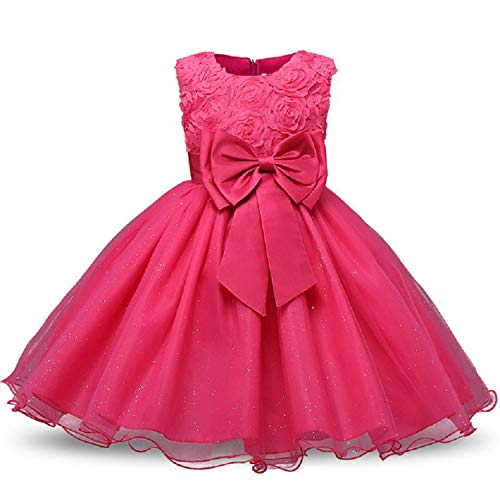 Christmas Baby Girls Dress for Evening Prom Party Costume Teenage Girls Kids Wedding Birthday Gown Little -