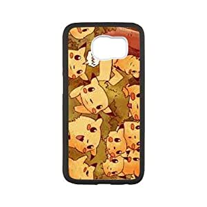 Pikachu for Samsung Galaxy S6 Cell Phone Case & Custom Phone Case Cover R88A649823