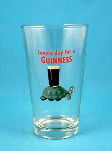 - Guinness Gilroy Turtle Pint Glass