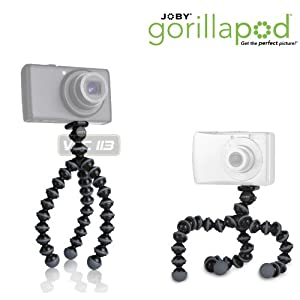 JOBY GorillaPod Original Tripod for Point and Shoot Cameras up to 325g (11.5 oz).