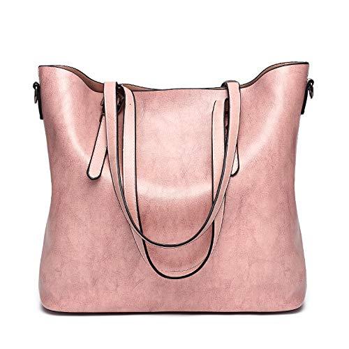 Sauvage Dames Bag à Sac Femmes Messenger Grande Mode bandoulière rose capacité Portefeuille Grand Simple Sac cartes coréenne à paquet des Main WSLMHH Sac de wS5vqf7