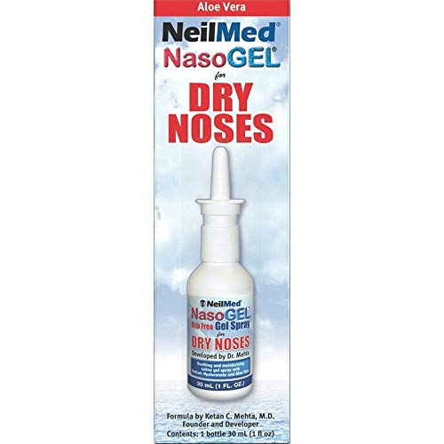 NeilMed Nasogel Drip Free Gel Spray, 1 Fluid Ounce (Pack of -
