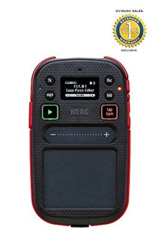 Korg mini Kaoss Pad 2 Touchpad Effects Processor with 1 Year Free Extended Warranty (Korg Mp3)