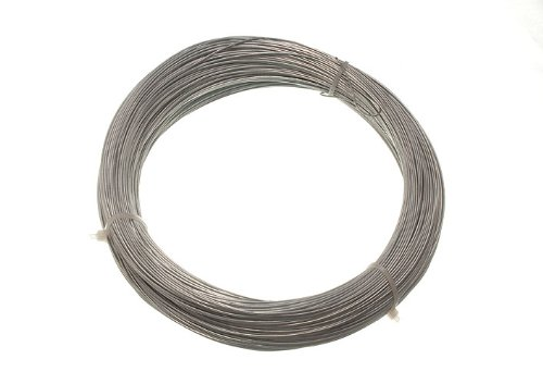 3 Of 500G In Weight Galvanised Garden Fence Wire 0.7 Mm 160 Metres