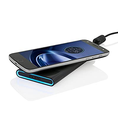 Moto Z Force, Incipio [Battery Pack] [Backup Battery] offGRID Wireless Power Pack for Moto Z- by Incipio