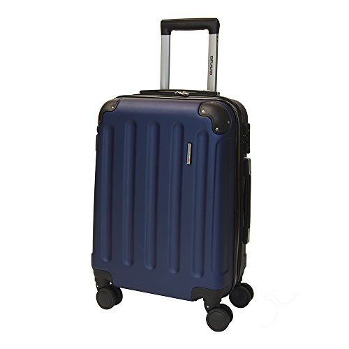"Performa Carry-On 21"" Inch Spinner Luggage TSA Lock Navy Blu"