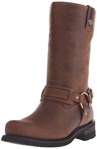 - Harley-Davidson Men's Westmore Motorcycle Harness Boot, Brown, 10 M US