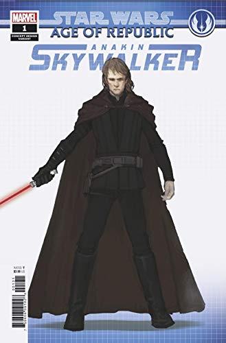 Star Wars Age Of Republic Anakin Skywalker #1 Concept Var (Marvel, 2019) NM