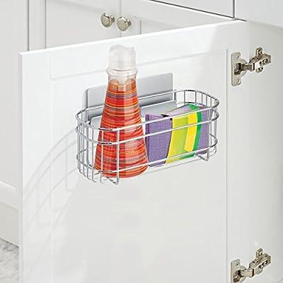 mDesign AFFIXX Estantes de cocina para lavavajillas, estropajos ...
