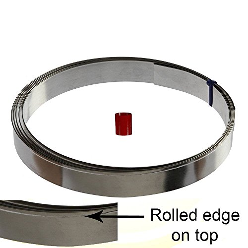 Make Your Own Cookie Cutter - Regular Tin Strip Coil 10 ft, 1 in Depth - Foose Cookie Cutters - USA Tin Plate Steel