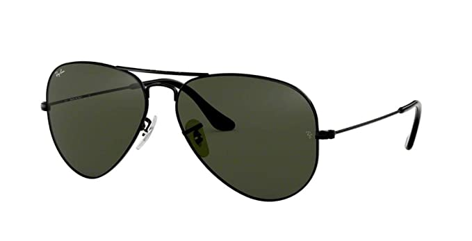 1abea971578 Amazon.com  Ray Ban RB3025 L2823 58M Black Gray Green Aviator  Shoes