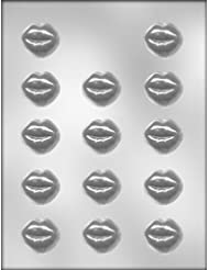 CK Products 1-3/8-Inch Smoochettes Chocolate Mold