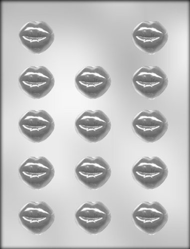 CK Products 1-3//8-Inch Smoochettes Chocolate Mold 90-1043