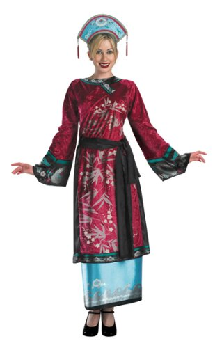 [Elizabeth Geisha Costume - Large] (Halloween Costumes For Asian Women)