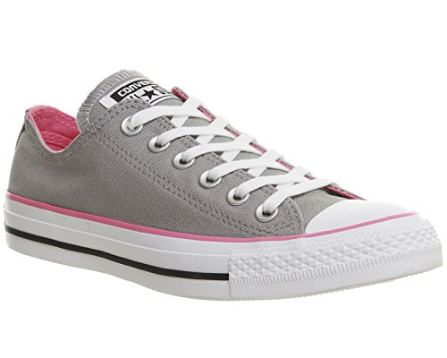 Converse Chuck Taylor All Star Ox, Chaussures Homme, Rouge, 35 EU Grey Pink