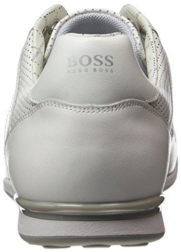 BOSS GREEN Arkansas_Lowp_ltpf 10197500 01, Scarpe da Ginnastica Basse Uomo Bianco (White 100)