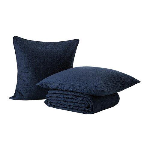 IKEA ALINA - Colcha y 2 fundas de cojines, azul - 260x280 ...