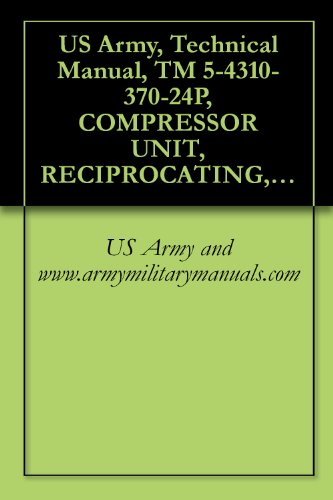US Army, Technical Manual, TM 5-4310-370-24P, COMPRESSOR UNIT, RECIPROCATING, ELECTRIC DRIVEN, 5 CFM, 175 PSI, MODEL 50-6715, (NSN 4310-01-089-4330), military manauals, special forces (Real Compressor)