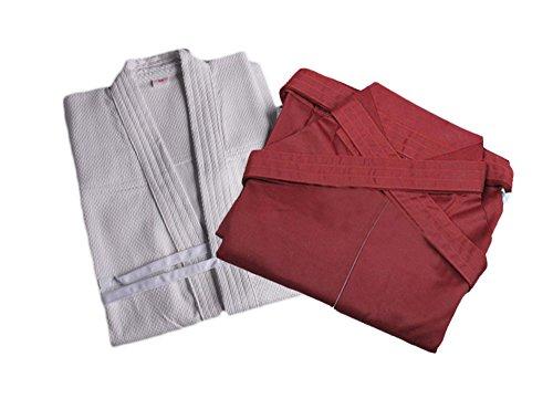 ZooBoo Mens Kendo Aikido Hapkido Martial Arts Keikogi and Hakama Suit
