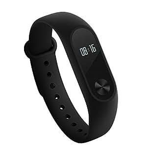 Original Xiaomi Mi Band 2 Heart Rate Monitor Smart Wristband With OLED Display - BLACK