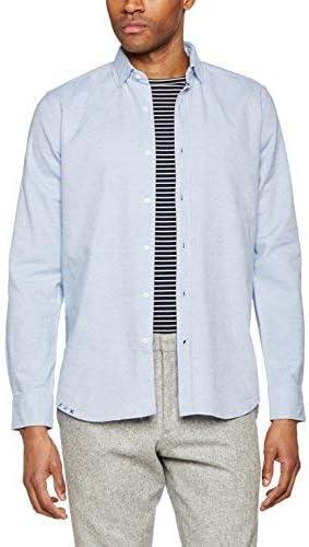 Scalpers Baltimore Shirt Camisa, Skyblue, 43 para Hombre: Amazon.es: Ropa y accesorios