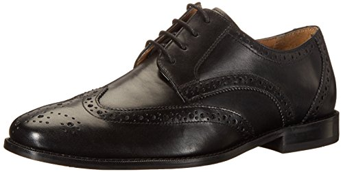 Florsheim Men's Montinaro Wingtip Dress Shoe Lace up Oxford, Black, 8 D US