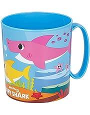Stor - Baby Shark 13504. Taza para microondas 350 ml.