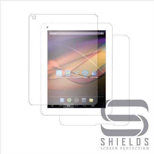 (2-Pack) StealthShields Tablet Full Body Screen Protector for Azpen A840 8