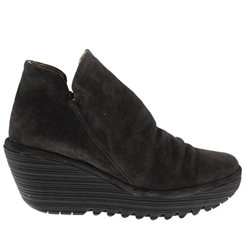 FLY London Womens Yip Platform Oil Suede Wedge Heel Ankle Boot Mid Heels Diesel clearance visa payment discount 100% authentic cost online with credit card online eXv92