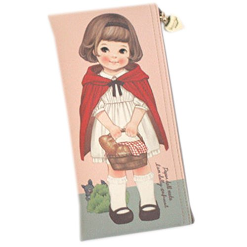 Afrocat Paper Doll Mate New Pen Case Storybook Sally Pencils