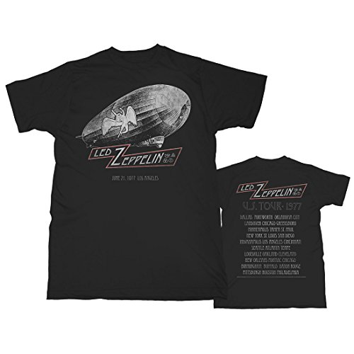 T-shirt 1977 Adult (Led Zeppelin - U.S. Tour - 1977 - Adult T-Shirt - Small)