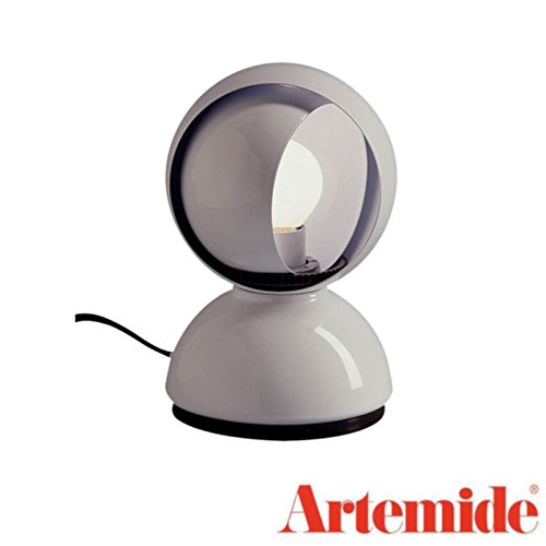 Artemide Eclisse Table Lamp White Bulb Included Design Vico Magistretti 1967