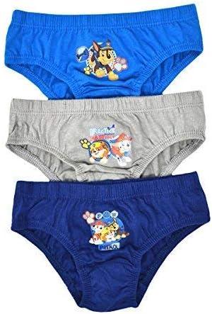 Aumsaa Boys Kids Characters 100% Cotton Briefs Underwear Slips Pants 3 Pack Underwear  Briefs